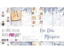 Papers For You Ninos Un Dia Magico Vellum Paper Pack (6pcs) (PFY-3669)