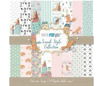 Papers For You Scandi Style Mini Scrap Paper Pack (24pcs) (PFY-3040)