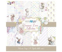 Papers For You Summer Love Mini Scrap Paper Pack (24pcs) (PFY-3072)