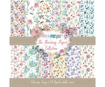 Papers For You The Flowering Project Mini Scrap Paper Pack (24pcs) (PFY-3114)