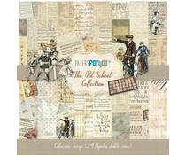 Papers For You The Old School Mini Scrap Paper Pack (24pcs) (PFY-3042)