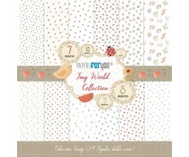 Papers For You Tiny World Mini Scrap Paper Pack (24pcs) (PFY-3343)