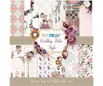Papers For You Wedding Boho Style Mini Scrap Paper Pack (24pcs) (PFY-3112)