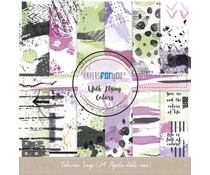 Papers For You With Flying Colors Mini Scrap Paper Pack (24pcs) (PFY-2823)