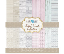 Papers For You Pastel Woods Mini Scrap Paper Pack (24pcs) (PFY-1581)