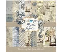 Papers For You Maritim Mini Scrap Paper Pack (20pcs) (PFY-3048)