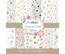 Papers For You Loving and Tender Mini Scrap Paper Pack (20pcs) (PFY-4138)