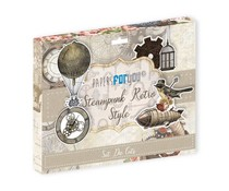 Papers For You Steampunk Retro Style Die Cuts (PFY-3340)
