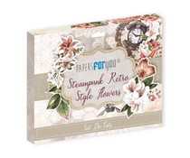 Papers For You Steampunk Retro Style Flowers Die Cuts (PFY-3341)