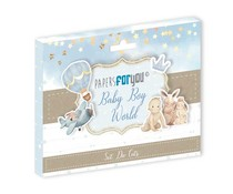 Papers For You Baby Boy World Die Cuts (PFY-3471)