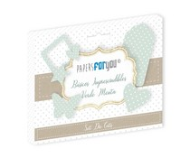 Papers For You Basicos Imprescindibles Verde Menta Die Cuts (PFY-3183)