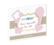 Papers For You Basicos Imprescindibles Rosa Bebe Die Cuts (PFY-3180)