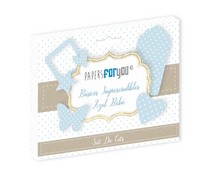 Papers For You Basicos Imprescindibles Azul Bebe Die Cuts (PFY-3181)