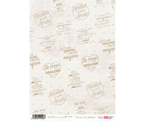 Papers For You Rico Rico Y Con Fundamento A4 Rice Paper (6 pcs) (PFY-2106)