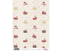 Papers For You Rico Rico Y Con Fundamento A4 Rice Paper (6 pcs) (PFY-2104)