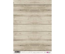 Papers For You Paneles De Madera Gastada A4 Rice Paper (6 pcs) (PFY-2528)