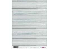 Papers For You Paneles De Madera Celeste A4 Rice Paper (6 pcs) (PFY-2524)