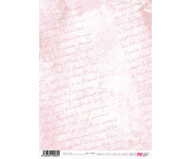 Papers For You Romantic Pastel Pink A4 Rice Paper (6 pcs) (PFY-2085)