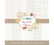 Papers For You Tiny World Scrap Paper Pack (6pcs) (PFY-4008)