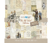 Papers For You The Old School Scrap Paper Pack (12pcs) (PFY-1223)