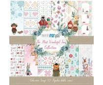 Papers For You The Most Worderful Time Scrap Paper Pack (12pcs) (PFY-3280)