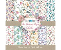 Papers For You The Flowering Project Scrap Paper Pack (12pcs) (PFY-3098)
