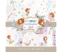 Papers For You Sweet Geometrical World Scrap Paper Pack (12pcs) (PFY-2284)