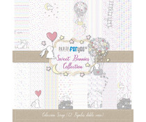 Papers For You Sweet Bunnies Scrap Paper Pack (12pcs) (PFY-1338)