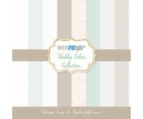 Papers For You Shabby Colors Scrap Paper Pack (16pcs) (PFY-1434)