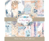 Papers For You Sea Breeze Scrap Paper Pack (12pcs) (PFY-3371)