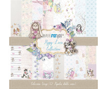 Papers For You Puppy Love Scrap Paper Pack (12pcs) (PFY-1528)