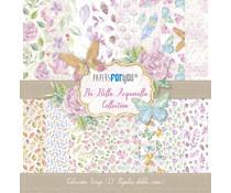 Papers For You Piu Bella Acquarella Scrap Paper Pack (12pcs) (PFY-1105)