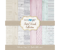 Papers For You Pastel Woods Scrap Paper Pack (12pcs) (PFY-098)