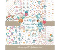 Papers For You Racoon Fantasy Scrap Paper Pack (12pcs) (PFY-2837)