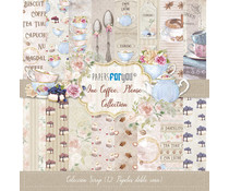 Papers For You One Coffee Please Scrap Paper Pack (12pcs) (PFY-1106)