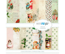 Papers For You Vintage Christmas Scrap Paper Pack (12pcs) (PFY-1295)