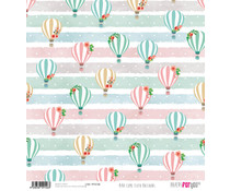 Papers For You Mira Como Floto Balloons Rice Paper (6 pcs) (PFY-2146)
