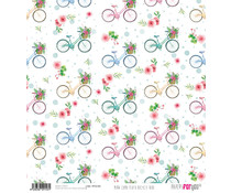 Papers For You Mira Como Floto Bicycle Ride Rice Paper (6 pcs) (PFY-2153)