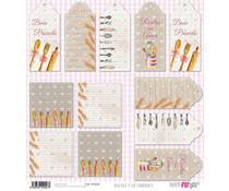 Papers For You Rico Rico Y Con Fundamento Rice Paper (6 pcs) (PFY-2047)