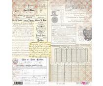 Papers For You The Old School Rice Paper (6 pcs) (PFY-2048)