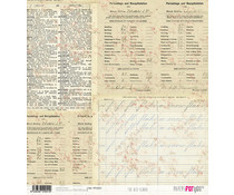 Papers For You The Old School Rice Paper (6 pcs) (PFY-2051)