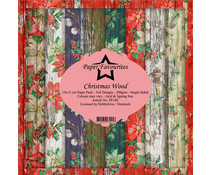 Paper Favourites Christmas Wood 6x6 Inch Paper Pack (PF180)