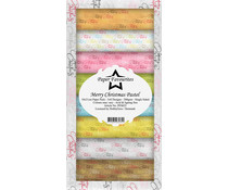 Paper Favourites Merry Christmas Pastel Slim Paper Pack (PFS025)