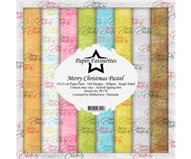 Paper Favourites Merry Christmas Pastel 6x6 Inch Paper Pack (PF179)