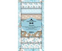 Paper Favourites Snowmen Slim Paper Pack (PFS023)