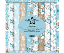 Paper Favourites Snowmen 12x12 Inch Paper Pack (PF377)