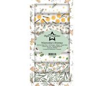 Paper Favourites Watercolour Christmas Slim Paper Pack (PFS024)
