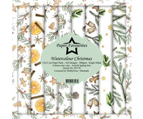 Paper Favourites Watercolour Christmas 6x6 Inch Paper Pack (PF178)