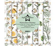 Paper Favourites Watercolour Christmas 12x12 Inch Paper Pack (PF378)