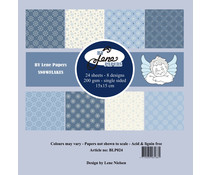 By Lene Snowflakes 6x6 Inch Paper Pack (BLP024)